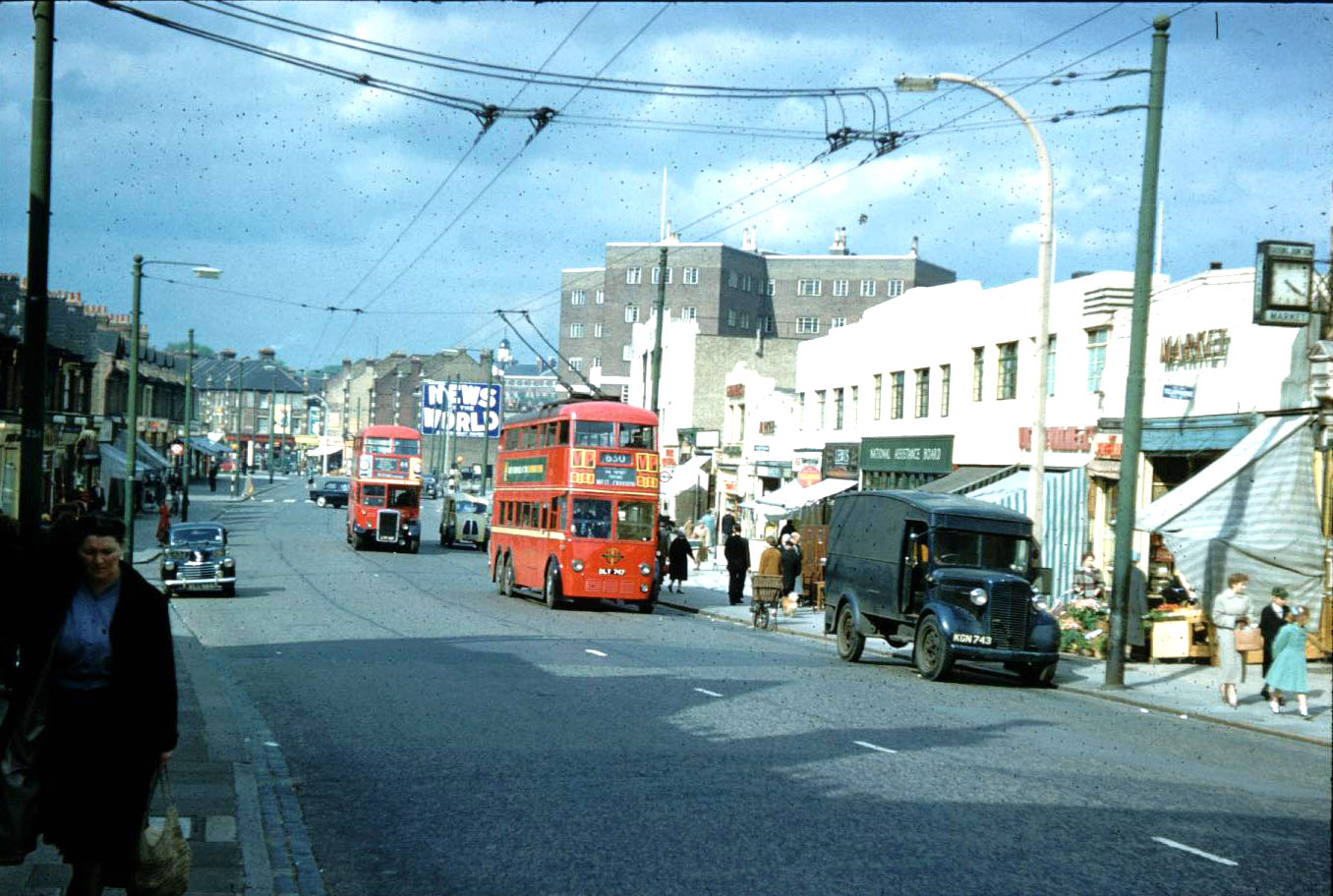 Mitcham Road, Tooting in 1959