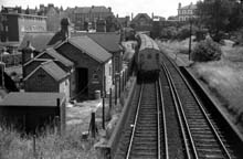 Tooting Junction Station buildings in March 1968
