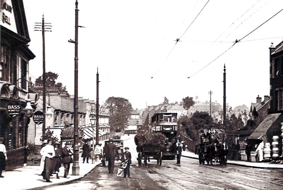 Mitcham Road, Tooting  around 1912