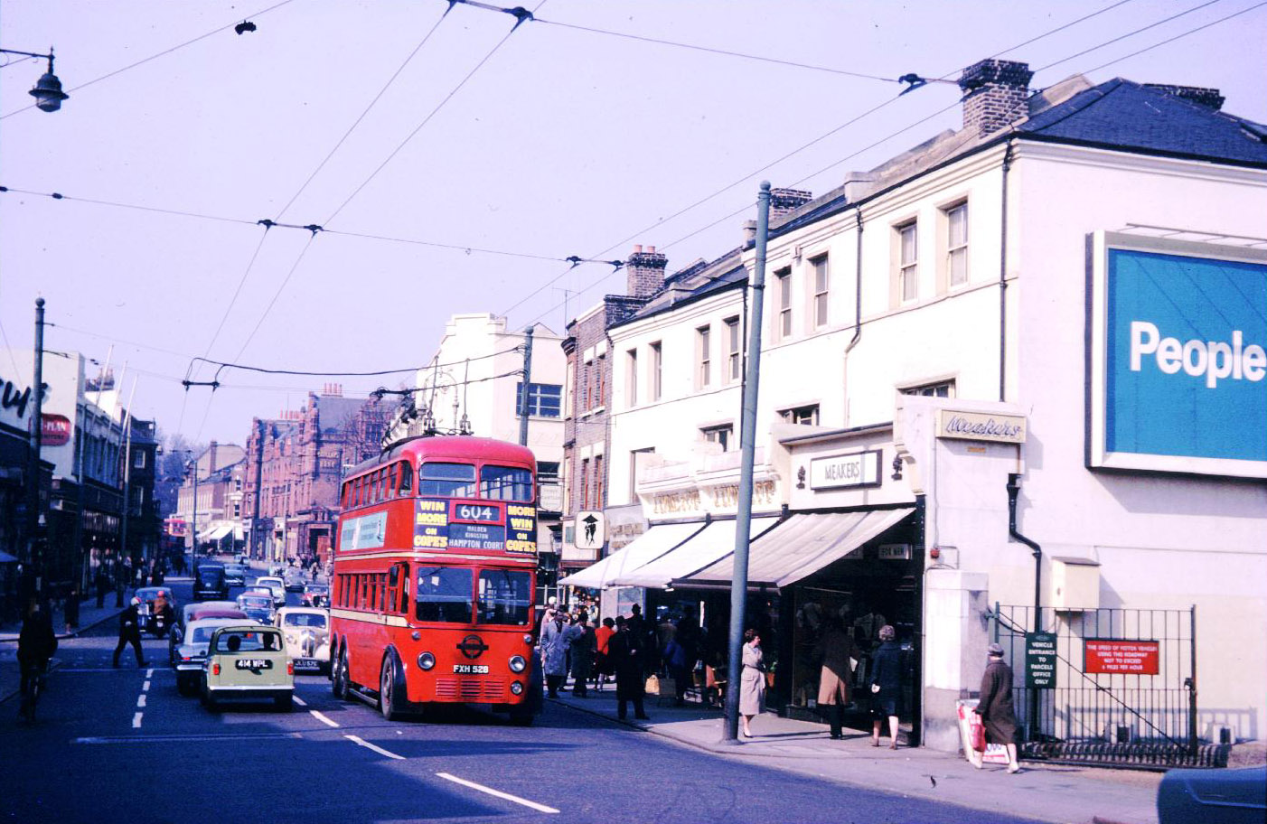 Wimbledon Hill Road - 1962