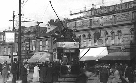 Station Road, West Croydon c1920