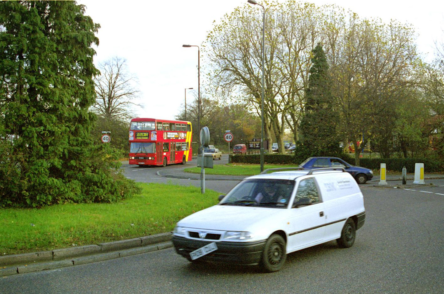 Mitcham Common in November 1999