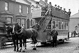 A horse tram at Charlton c1908