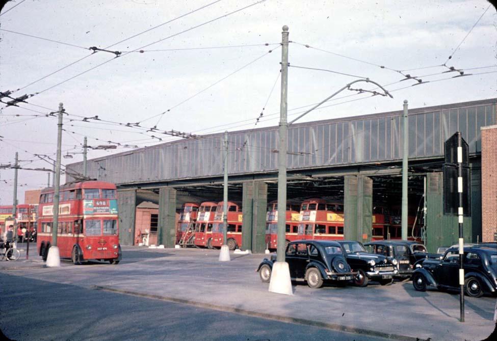 David Bradley Online London Trolleybus Depot At Bexleyheath