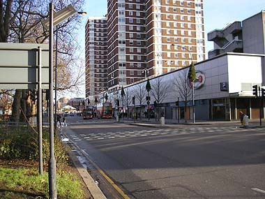 South side of Shepherds Bush Green on 1/1/2007