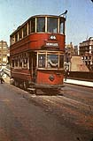 London Tram on Southwark Bridge