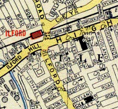 Ilford 60s Map