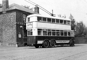 Early Maidstone Trolleybus